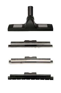 Priključki za parni čistilec omogočajo dostop in čiščenje različnih površin.